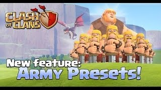 Clash of Clans - Update October 2016 - New Troops timing and costs ( New Quick Train Feature )