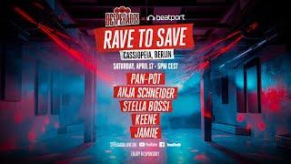 Anja Schneider DJ set - Rave to Save Cassiopeia Berlin |  @Desperados  x  @Beatport  Live