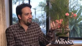 MOANA: Backstage with Lin Manuel Miranda