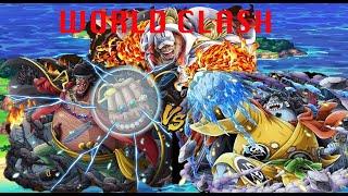 OPTC 「トレクル」WORLD CLASH vs Blackbeard/Akainu/Jinbe 50 Stamina