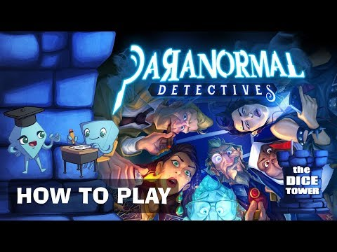 Paranormal Detectives Board Game - How to Play. By Stella & Tarrant