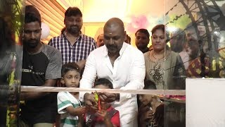 #RaghavaLawrence inaugurates Flamingo Tours & Travels