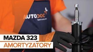 Mazda 323 P BA instrukcja obsługi po polsku online