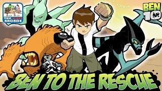 Ben 10: Ben To The Rescue - Gwen Taken From The Rust Bucket (Cartoon Network Games)
