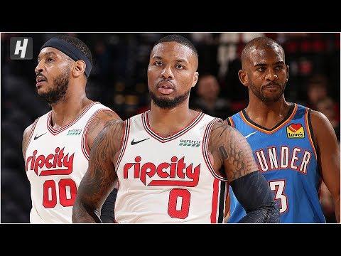 Oklahoma City Thunder vs Portland Trail Blazers - Full Game Highlights   November 27, 2019 Season
