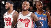 Oklahoma City Thunder vs Portland Trail Blazers - Full Game Highlights | November 27, 2019 Season