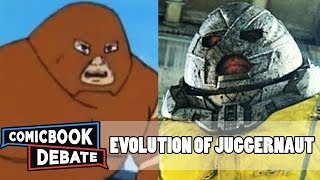 Evolution of Juggernaut in Cartoons, Movies & TV in 8 Minutes (2018)