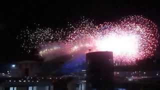 Зажгли олимпийский огонь! олимпиада в Сочи 2014 считается открыткой!