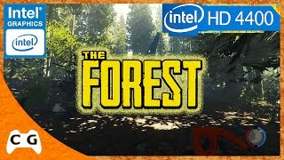 The Forest Roda Na Intel HD Graphics ? #255 (The Forest Gameplay)