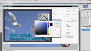 "Tutorial: Creating a QR Code event with Adobe Photoshop Plugin ""QR Code Generator 2.0.2"" by EVEnX"