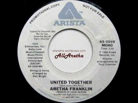 "Aretha Franklin - United Together (Mono & Stereo) - 7"" DJ Promo - 1980"