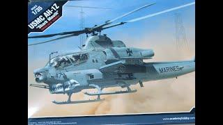 프라모델 키트 언박싱 USMC AH-1Z Viper &…