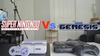 Super Nintendo Vs Sega Genesis - Review