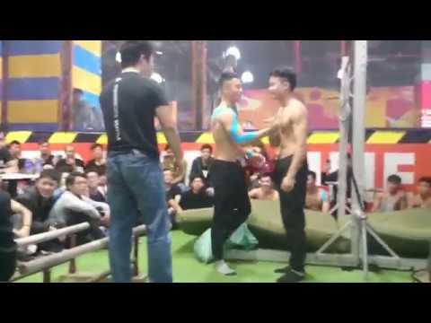 Hanoi Street workout Open Cup 2016 #vnswcf#battle2016 Phong Bar vs Đỗ Quốc Huy