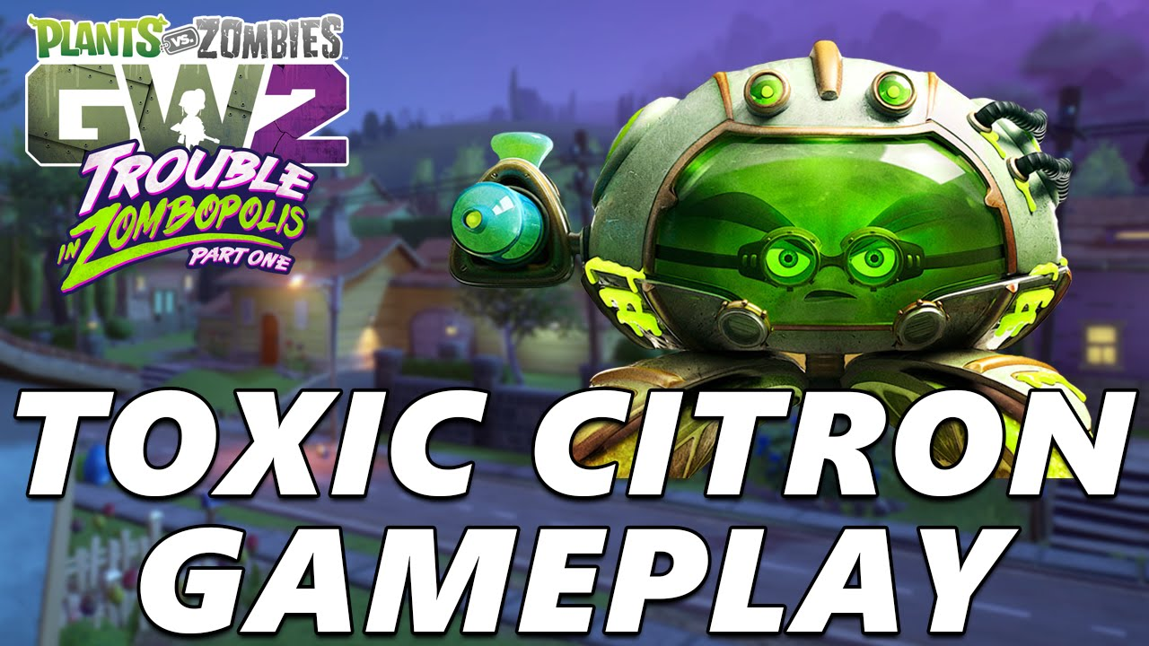 Citron from plants vs zombies garden warfare 2 plants vs zombies - Citron From Plants Vs Zombies Garden Warfare 2 Plants Vs Zombies 1