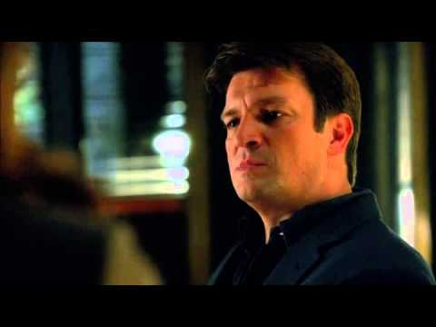 CASTLE - Castle Beckett talking about babies with alexis