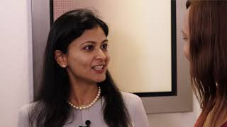 """Gambar cover """"The game changers for the renewables market is batteries and storage"""" - Pooja Goyal"""
