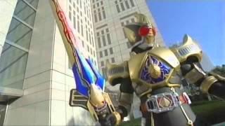 Kamen Rider Blade OST : King Form  Karei Naru Blade