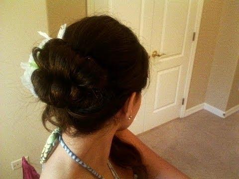 Cute Hair Style Hawaiian Glam Fast And Easy Tutorial Youtube