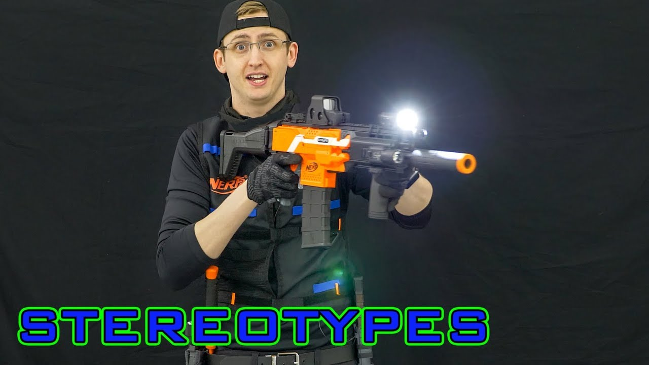 NERF STEREOTYPES | THE LOW-LIGHT OPERATOR | Awesome Nerf Guns