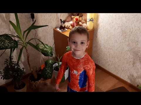 Spiderman сostume!костюм человека паука!