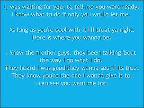 Me and You -Cassie lyrics