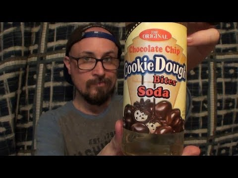 Brad Tries Chocolate Chip Cookie Dough Bites Soda