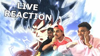 GOKU VS JIREN - DRAGON BALL SUPER 109 110 - LIVE REACTION FR ET REVIEW thumbnail