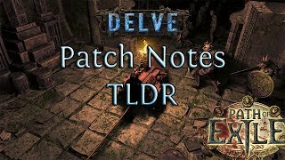 3.4 Delve Patch Notes TLDR