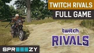 Twitch Rivals $80,000 Tournament | Game 4 | Full Game | Duo with F1rstlady