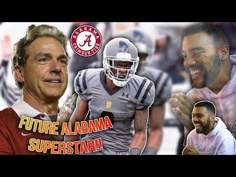 Alabama's Top Recruit Is Exactly What You Think...A BEAST!!!- Eyabi Anoma Highlights [Reaction]