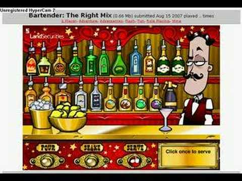 Bartender: The Right Mix y8.com - YouTube  Bartender: The ...