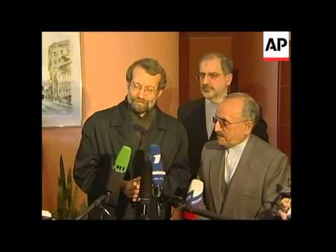 Iranian delegation arrives for talks on nuclear issue