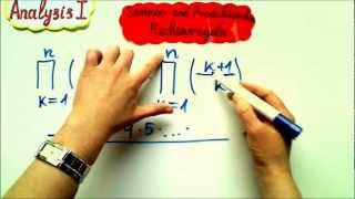 Analysis I Summen und Produktzeichen Praktische Aufgabe 1
