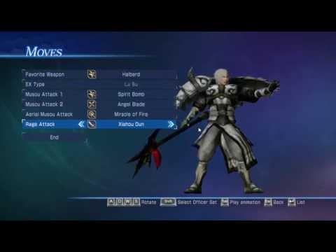 Dynasty Warrior 8 Empires - Creating a Cool Char