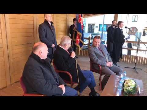 prezident M. Zeman v Kojetíně o neziskovkách a sirotcích