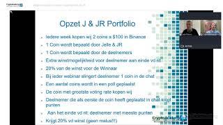 Webinar Crypto Visie en Trading met J & JR op donderdag 25 maart screenshot 4