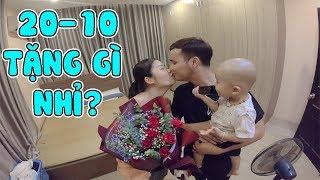 Ba Jun cùng Nhân Phương Vlog Tặng Quà 20/10 Cho Vợ sẽ NTN | Gia Đình Jun Jun