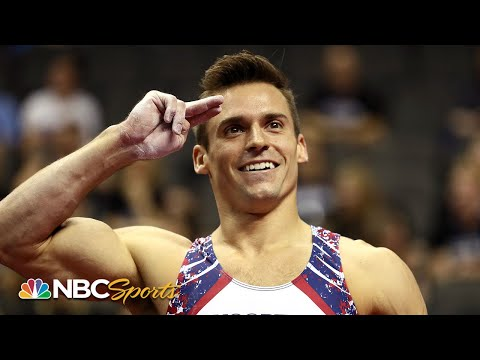 Sam Mikulak's top moments from world gymnastics team final | NBC Sports