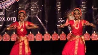 Ramachandraya Janaka choreography Hemamalini Chavali at 2015 Deepavali in Irving