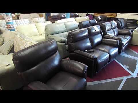 Alec`s 3 Piece Suites - Walk around the Sofa & Furniture Warehouse
