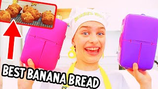 HEALTHY LUNCHBOX BANANA BREAD MUFFINS (Sockie entertaining cooking)