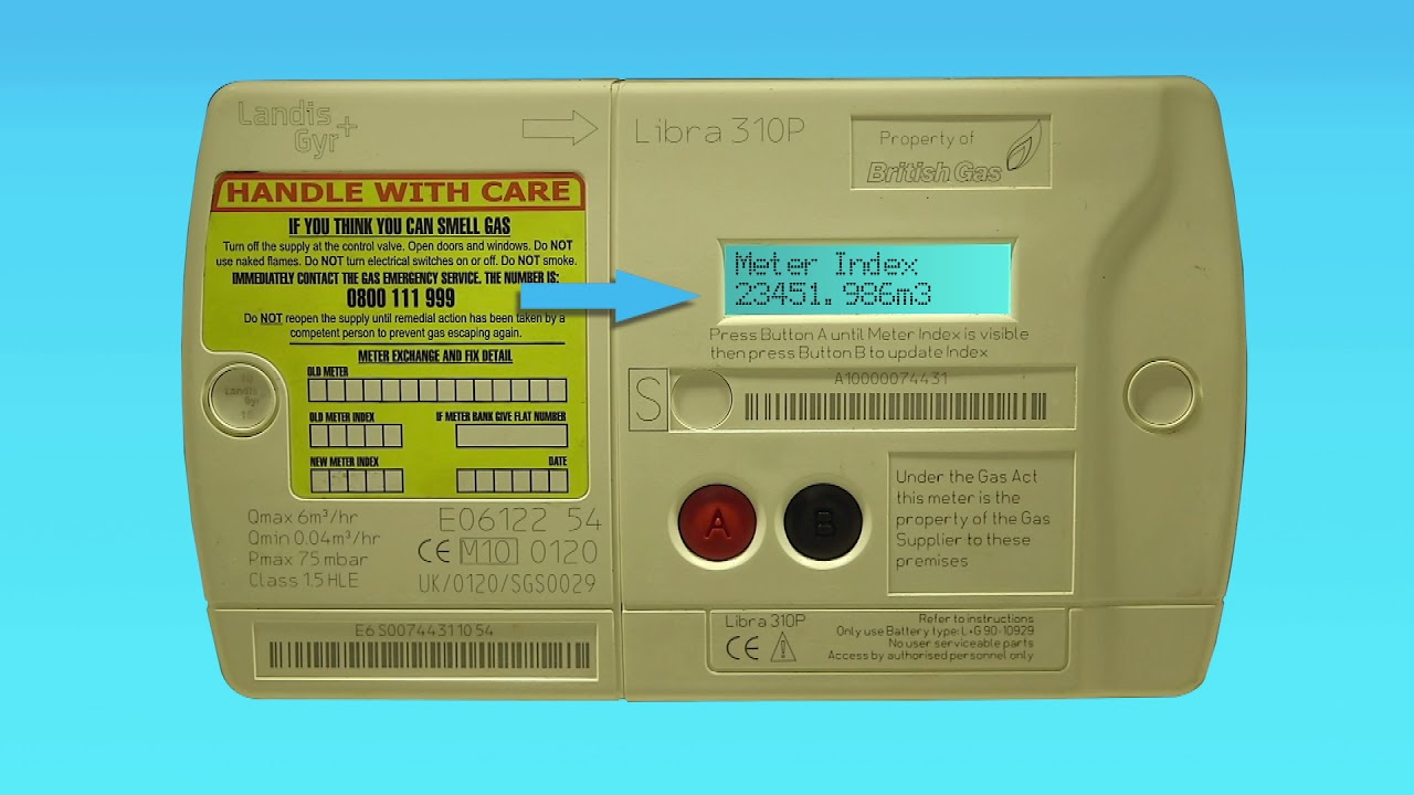 How to read a digital gas meter - British Gas Business