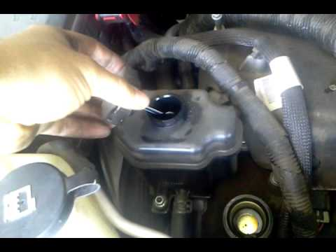 Gmc Acadia Power Steering Fluid Location Youtube