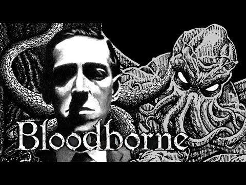 ЛАВКРАФТ И КТУЛХИ самая атмосферная локация Bloodborne Lovecraft
