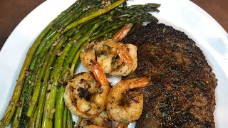 Steak and Shrimp Surf and Turf  Easy Recipe!