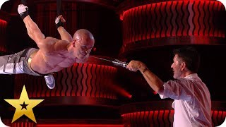 Download Most DANGEROUS acts from BGT: The Champions Mp3 and Videos