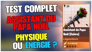 "TEST COMPLET OF RPG ""ASSISTANT OF PAPA NOEL"" FORTNITE Save the World"
