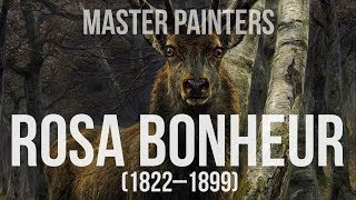 Rosa Bonheur (1822–1899) A collection of paintings 4K Ultra HD
