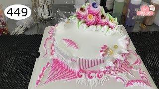 chocolate cake decorating bettercreme vanilla (449) Học Làm Bánh Kem Đơn Giản Đẹp - Hồng Nhẹ (449)